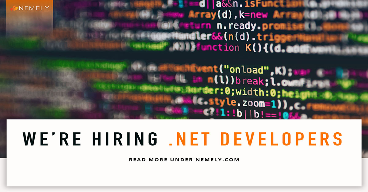 We're Hiring .NET Developer