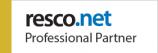 Resco Professional Partner logo on Nemely